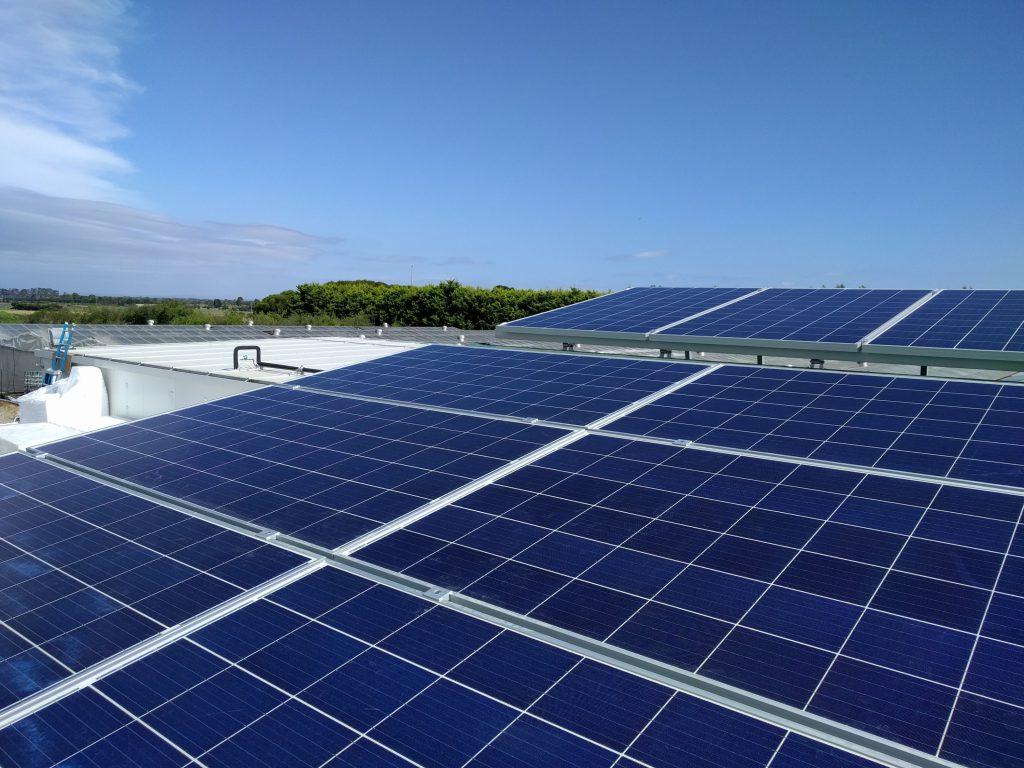 30kW farm solar project in Melbourne by Sun Lizard